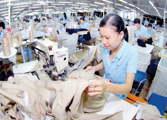 Exports of textile and garment industry has many advantages in 2016 2