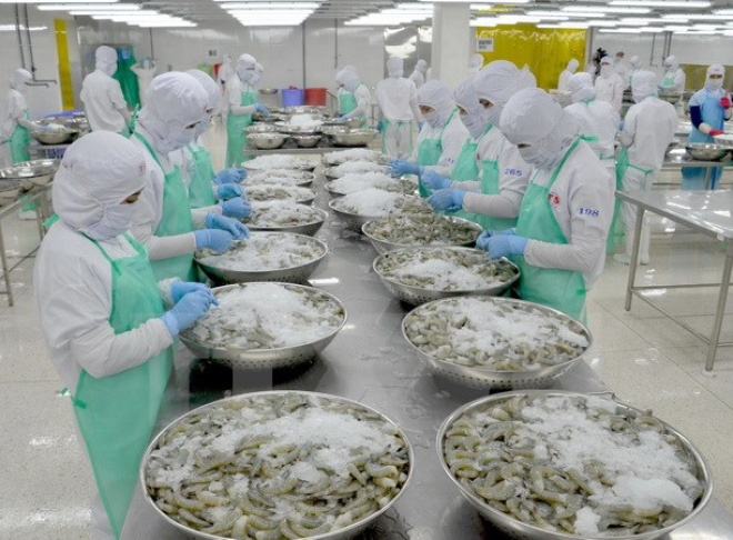 In 2016 Vietnams seafood exports continue to grow despite challenges