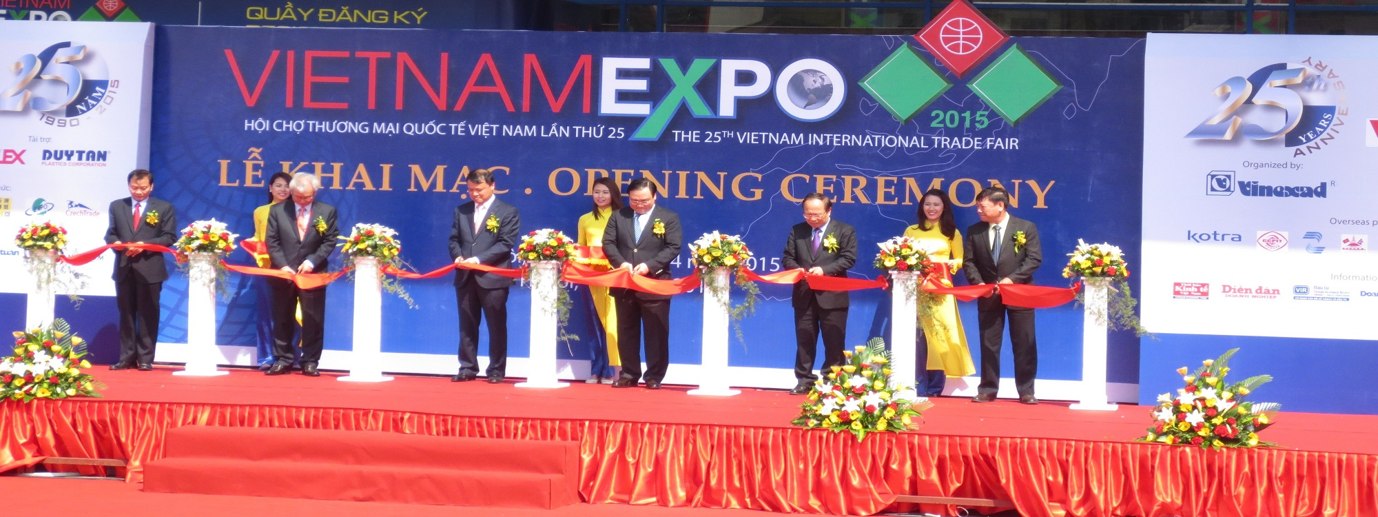 How to attend tradefairs in Vietnam